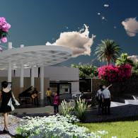 Teatro al aire libre en Tecámac Power Center