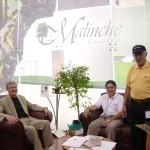Stand en Expo Golf con el entonces gobernador de Tlaxcala Alfonso Sánchez A.